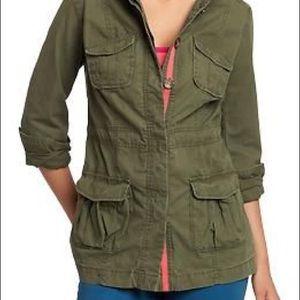 Old Navy Feminine Military Jacket